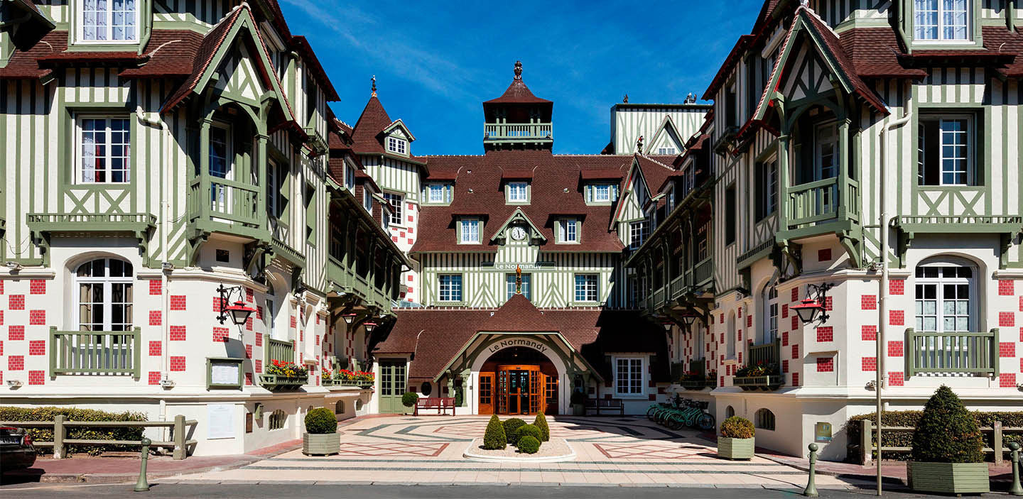 Hotel Barriere<br>Le Normandy Deauville